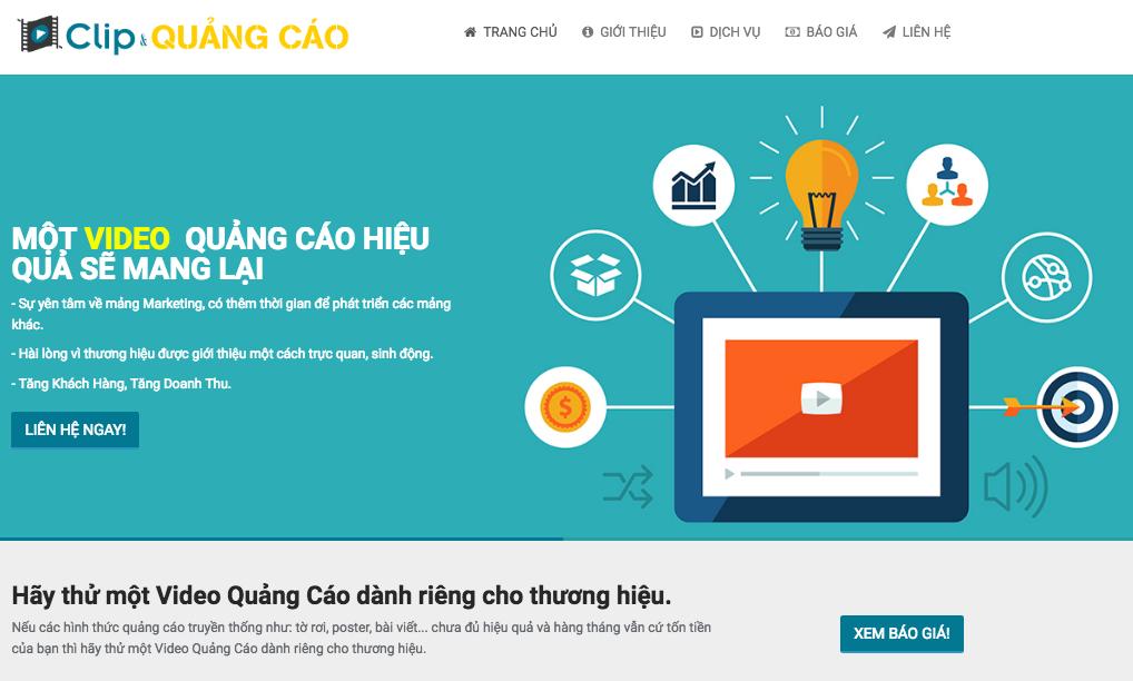 ベトナム動画制作&ウェブマーケティングサービスを開始しました。